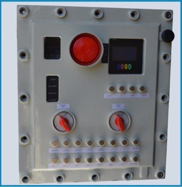 Control Panel of Rotary Evaporator